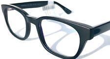 BLUE LIGHT Blocking FASHION Reader Computer Gaming Glasses TORTOLA Matte Black