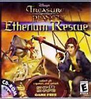 Disney's Treasure Planet Etherium Rescue Pc Video Game Windows Mac 2002