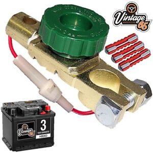 VOLVO-140-145-P121-P1800-P2000-Amazon-bateria-Aislador-corte-seguridad
