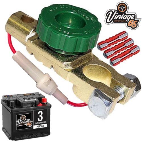 Volvo 140 145 P121 P1800 P2000 Amazon Batterie isolater Coupé Sécurité Commutateur