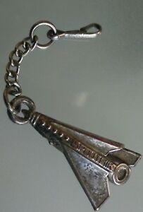 Rare-Key-Ring-Sputnik-Vintage-Cosmonauts-Rocket-Aerospace