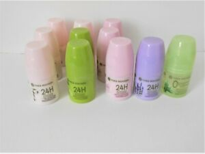 11 déodorants Yves Rocher, neufs, 5 sortes différentes