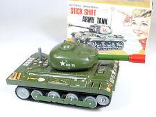 Nomura Toys T.N Stick Shift Army Tank Panzer Japan Blech selten OVP 1402-21-35