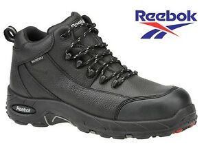 NWB-Men-039-s-Reebok-Composite-Toe-4-034-Hiker-Sneakers-Work-Boots-Waterproof-Leather