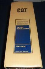 Cat Caterpillar Th103 Telehandler Service Shop Repair Book Manual Sn 3pn1 2026