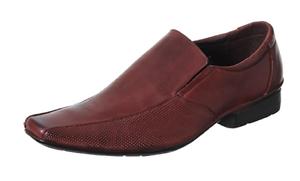 Para Hombre Diseñador Inspirado Oficina/Boda Sin Cordones Zapatos-Todos los Tamaños
