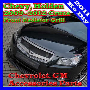 Front Radiator Sports Grille For 2008 2009 2010 Chevy