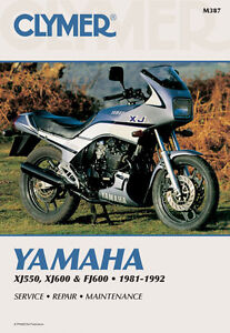 clymer repair service shop manual vintage yamaha xj550 81 82 83 rh ebay com yamaha xj 550 repair manual yamaha xj 550 maxim manual