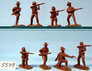 Armies-In-Plastic-5509-Boxer-Rebellion-U-S-Army-1900-Figures-Wargaming-kit