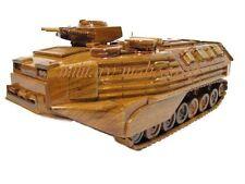 USMC AAVP7A1 APC Amtrac Amtrack Marine Amphibious Assault Wood Wooden Model New