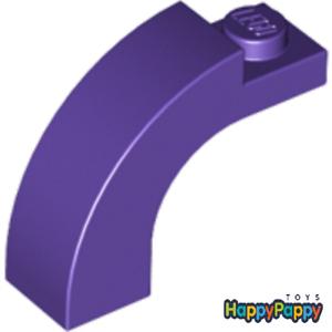 Lego 4x Stein Bogen Brücke 1x3x2 Dunkel Lila Purple Brick Arch 6005 Neuware New