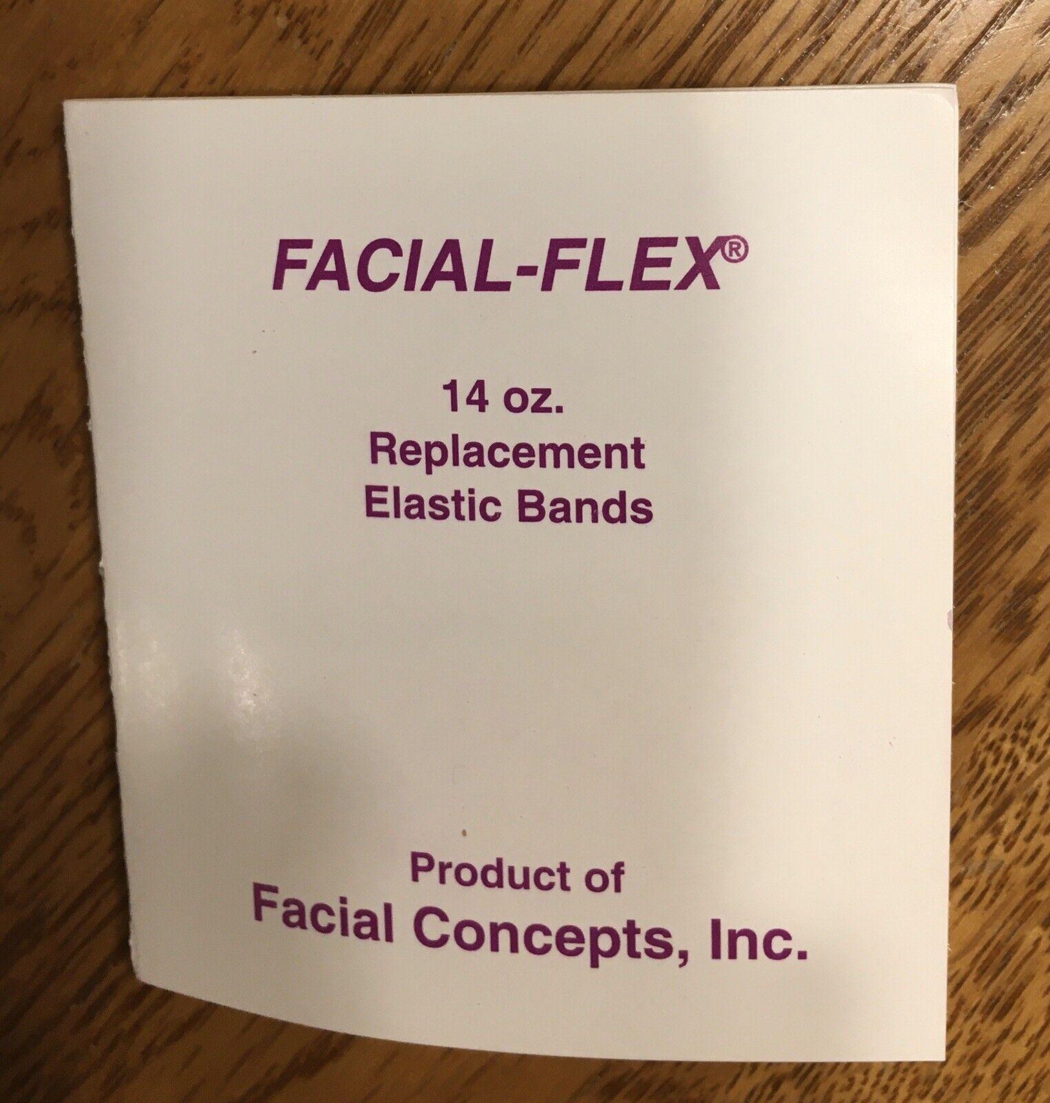 Remplacement Bands-Pack de 20 Facial Flex Bandes Résistance 14 oz environ 396.89 g