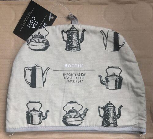 Tea Cosy Cosie Booths 100/% Cotton Teapot NEW
