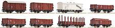 ROCO 44002; 8 Güterwagen m. 20 Rungen NEU auf Wunsch Achstausch f.Märklin gratis