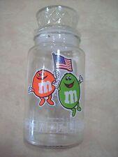 M & M 1984 Los Angeles Olympics Glass Jar