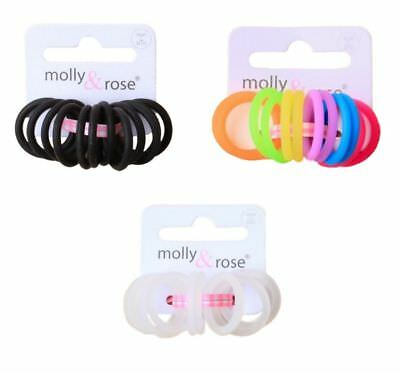 1 x PACK of 12 SMALL 3cm PONIO HAIR ELASTICS BOBBLES BANDS GIRLS BABY PONY TAIL