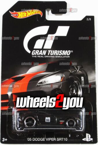 2016 Hot Wheels GRAN TURISMO Basic DJL12 05 DODGE VIPER SRT10 black