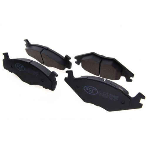 SCT Bremsbeläge SP115PR Bremsklötze Bremsbelagsatz Bremsen vorne Seat VAG VW