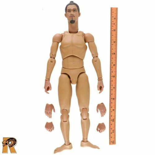 Ashigaru Mousquetaire-nude figure /& EXTRA MAINS 1//6 Scale quinze Action Figures