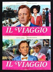 Lotto Fotobusta Die Reisekit Sophia Loren Richard Burton Vittorio De Sica Film