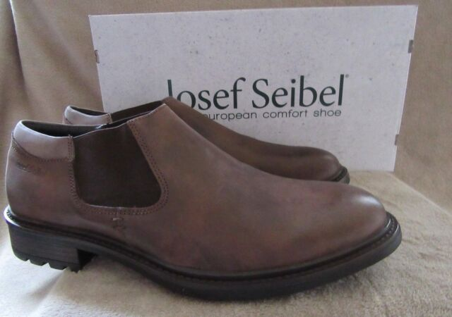 5a7de4e9e7367 JOSEF SEIBEL Oscar 35 Moro Kombi Brown Leather Boots Shoes Size US 12 EU 45  NWB