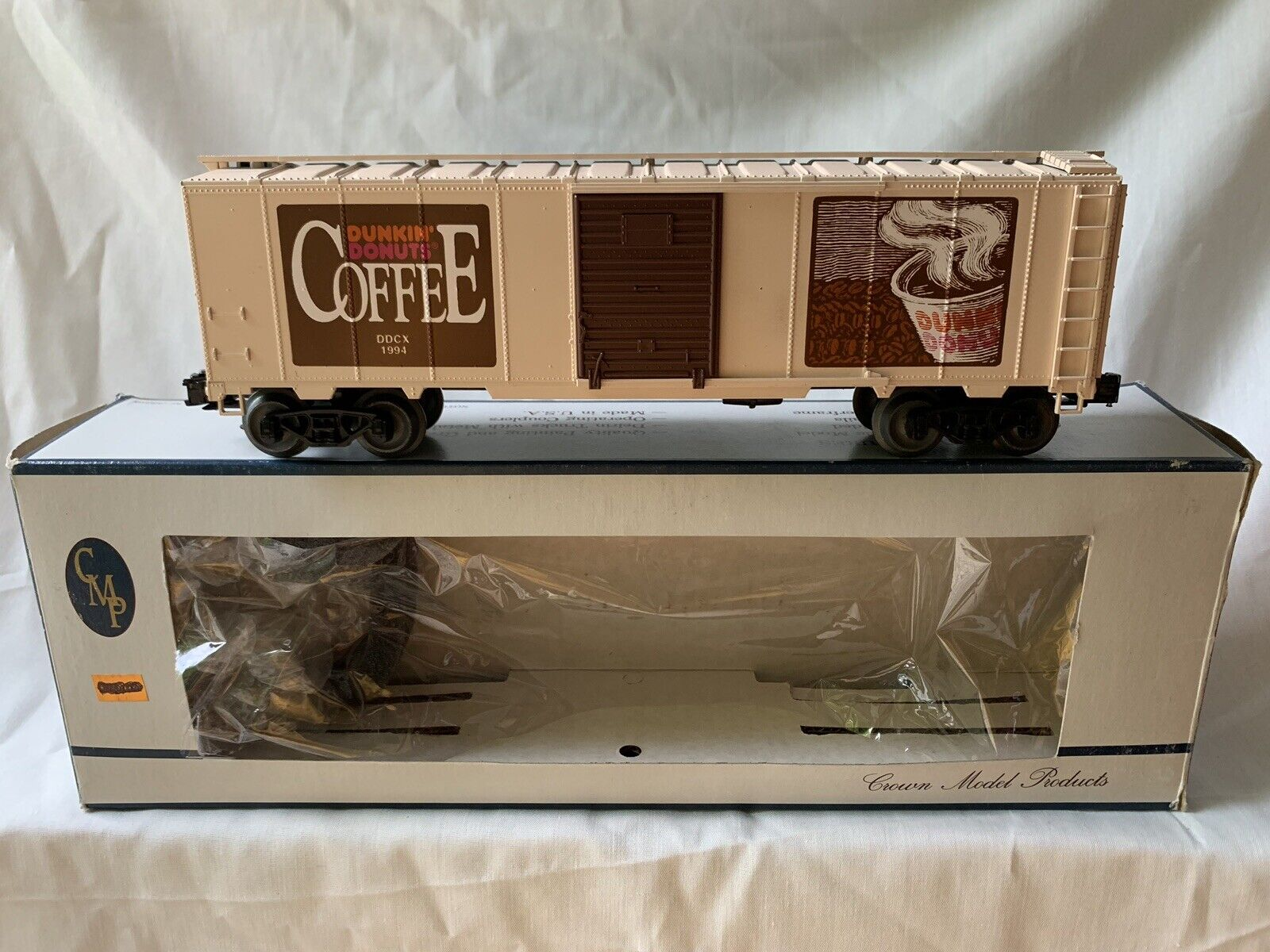Weaver Dunkin Donuts Café Caja Auto en Caja Para Tren Lionel MTH Juguete o calibre