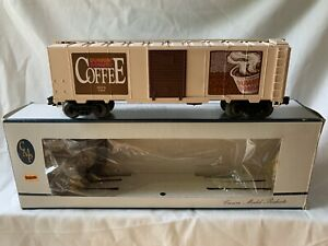 WEAVER-DUNKIN-DONUTS-COFFEE-BOX-CAR-LN-BOX-FOR-LIONEL-MTH-TRAIN-O-GAUGE-TOY