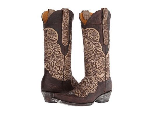 New in box femmes Old Gringo Feita Bone Chocolate Tailles 8 and 8.5 MSRP   600