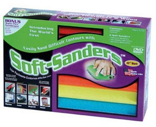 "Style Line 704 16/"" Soft-Sanders Automotive Set 6Pc"