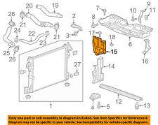 Chevrolet GM OEM 12-15 Camaro Radiator-Side Baffle Right 22781290