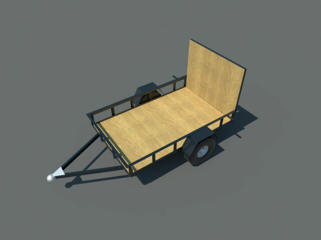 Build your own 5' X 8' Trailer (DIY Plans) Fun to build! Save money!