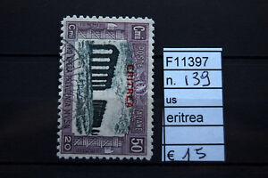 FRANCOBOLLI-ITALIA-COLONIE-ERITREA-USATI-N-139-F11397