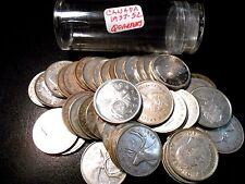 Roll (40) Pre-1967 Canada .800 Fine Silver Quarters Elizabeth II & George VI.#1