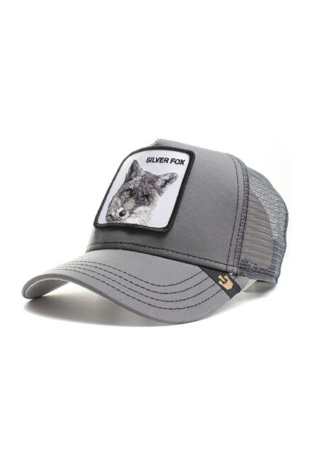 Goorin Bros. Trucker Cap Silver Fox Grey b765fb6e1ce
