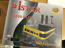 i STAR  Korea A8000 PLUS Full HD USB-CA Receiver 6 MONTHS ONLINE TV