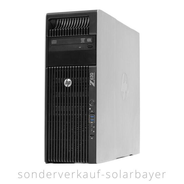 HP Z620 Workstation 2x Xeon E5-2670 48GB RAM Quadro 4000 256GB SSD 4TB HDD Win7