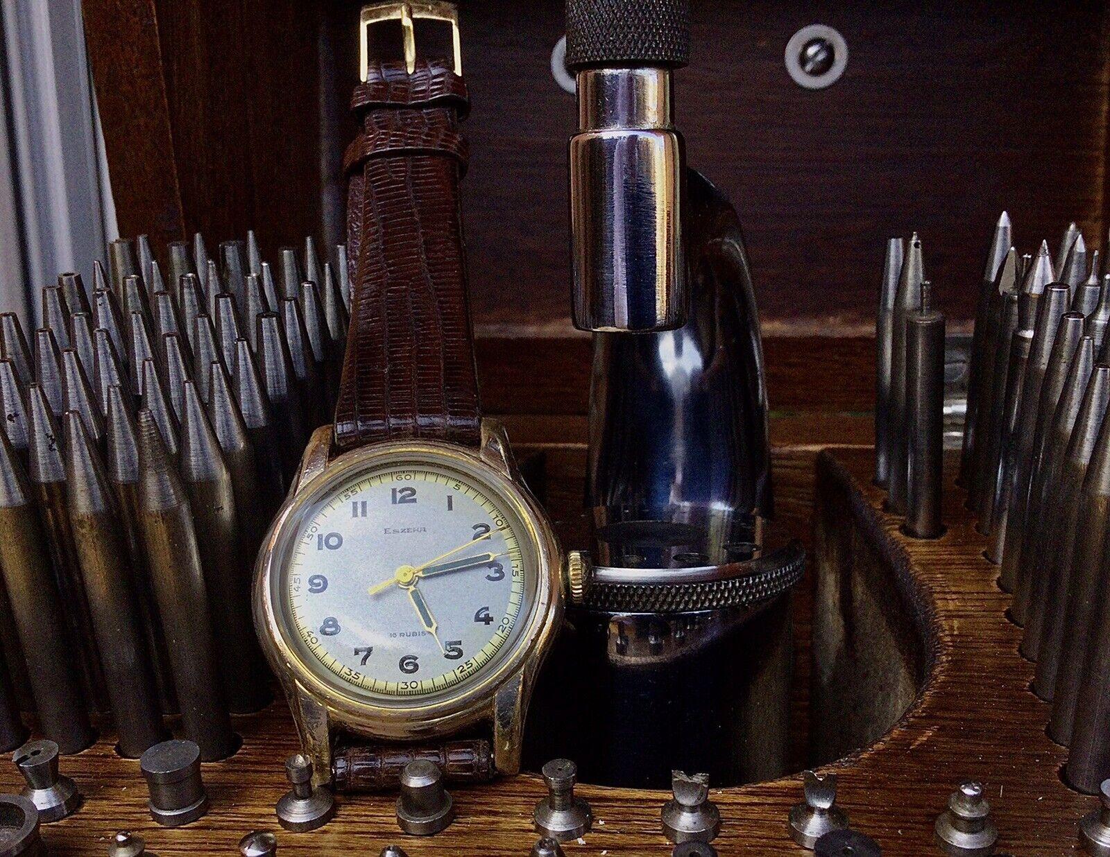 Eszeha, Reloj Vintage De Pulsera. Chopard. In Working Order.