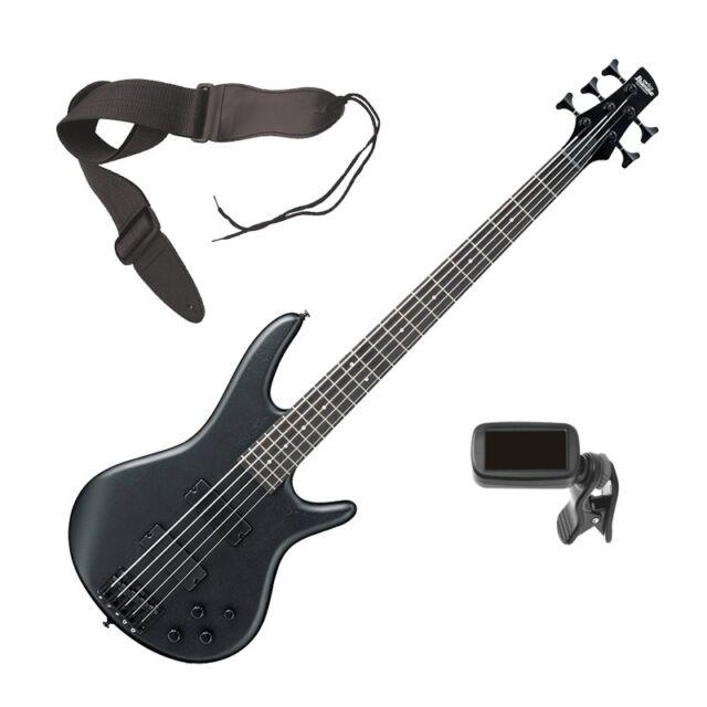 ibanez gio soundgear gsr205b 5 string bass guitar weathered black for sale online ebay. Black Bedroom Furniture Sets. Home Design Ideas
