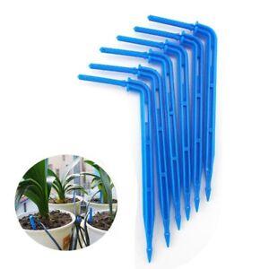 20//50pcs Bend Arrow Dripper Garden Micro Drip Irrigation Drops Sprinkler Emitter