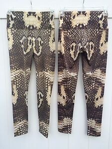 09245b931677d Image is loading OM-Shanti-Yoga-Pants-Minor-imperfections-New-SNAKE