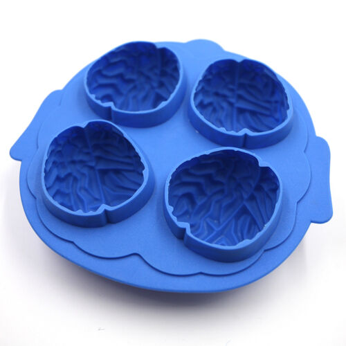 Silikon Gehirn Form Eis Einfrieren Würfel Maker Mould Mould Bar Party Trin sg