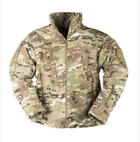 Delta outdoor Fleece chaqueta camu. Jacket chaqueta Army multitarn camuflaje XL Xlarge