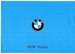 BMW 1966-67 UK Market Sales Brochure 1600 1800 Ti 2000 C