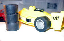 PNEUS REPRO SLICONE Jouef F1 Ferrari 312t, Ligier JS5 et JS11, Renault