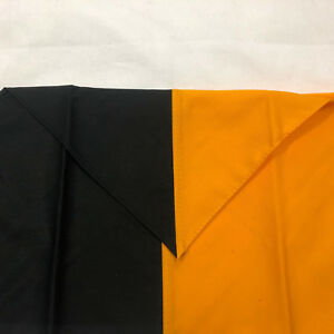 Cub Scout Boy Scout Uniform Neckers Boy Youth Size Half Black Half Orange