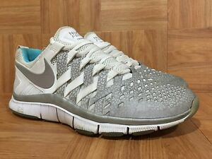 new styles ba0a7 38d5e Details about RARE🔥 Sample Nike Free Trainer 5.0 V4 Reflective Silver  Gamma Blue Ice McFly 10