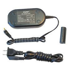 HQRP AC Adapter + DC Coupler for Canon PowerShot IXUS 500 510 1000 1100 HS NB-9L