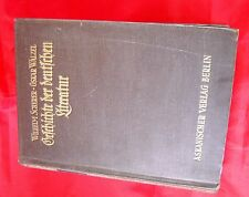 Scherer Walzel - Geschichte der deutschen Literatur - 1921 Askanischer Verlag