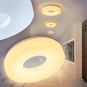 Dettagli su Plafoniera LED potente Lampada per cucina, soggiorno e bagno  nuovo IP44 155528