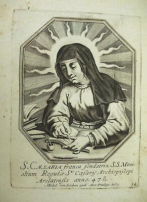 Sainte Dorothée De Césarée Michiel Van Lochom Xviie Duchesse D'aiguillon 1639 Grandes Variedades